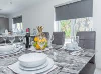 Waters Edge Dinning Table - Self Catering Banff